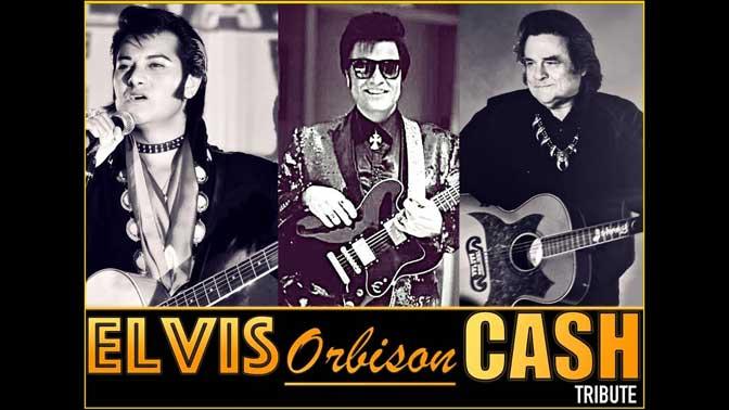 Elvis, Orbison and Cash Tribute