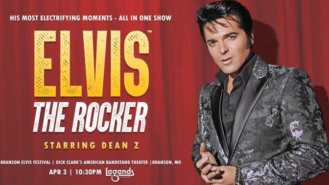 Elvis The Rocker, Starring Dean Z