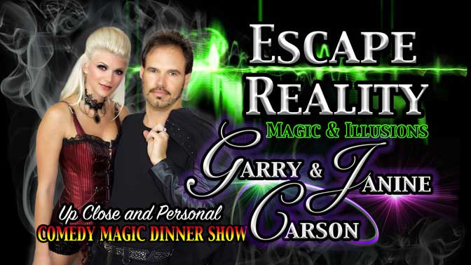 Escape Reality Dinner & Magic Show