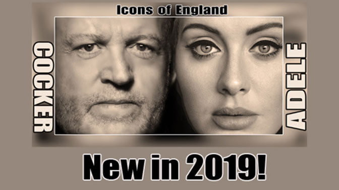 Icons of England The Music of Joe Crocker & Adele