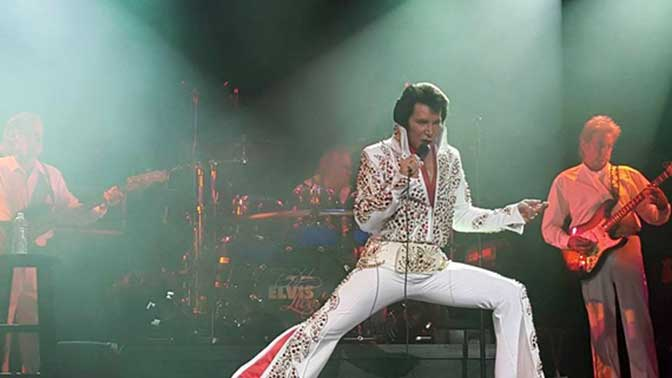 "Jerry Presley ""Elvis Live"""