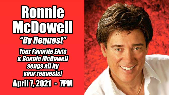 """Ronnie McDowell """"All Request Show"""""""