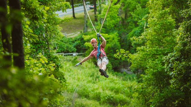 Shepherd of the Hills Great Woodsman Canopy Tours