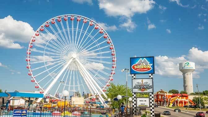 The Branson Ferris Wheel Branson Mo