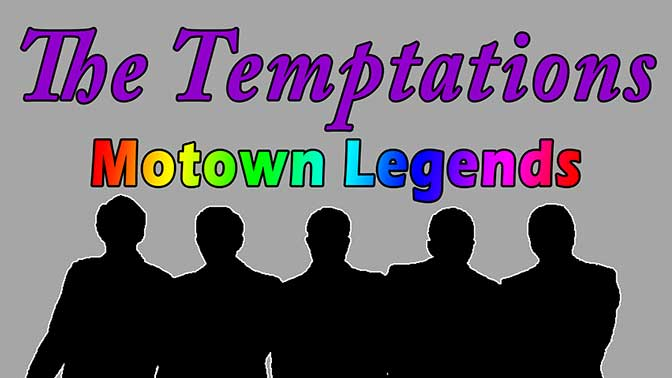 The Temptations Motown Legends