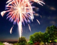 Big Cedar Lodge Fireworks Celebration