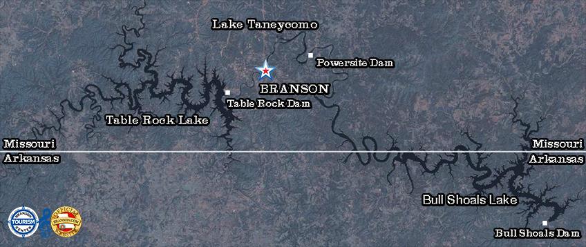 Branson Area Lakes