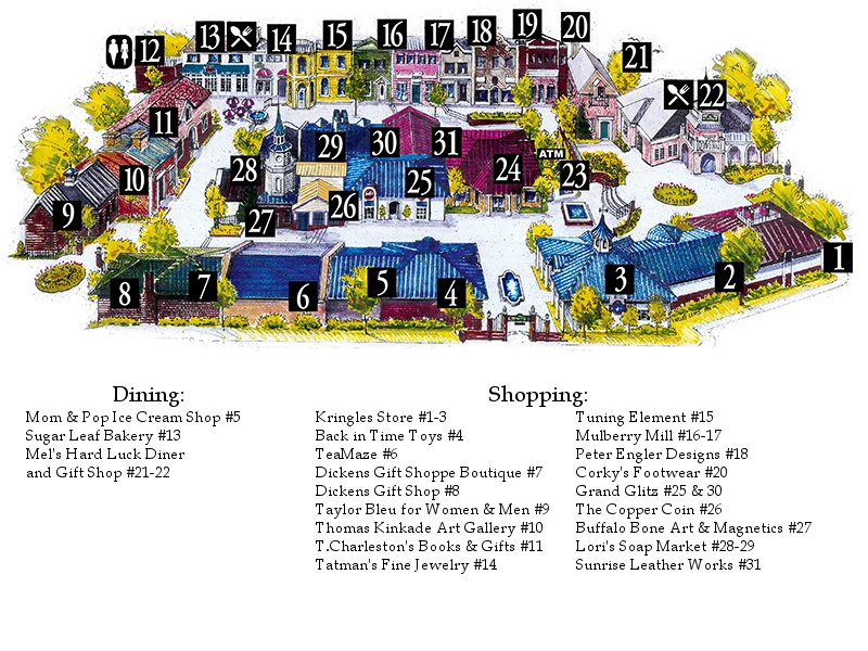 Clothing stores in branson mo