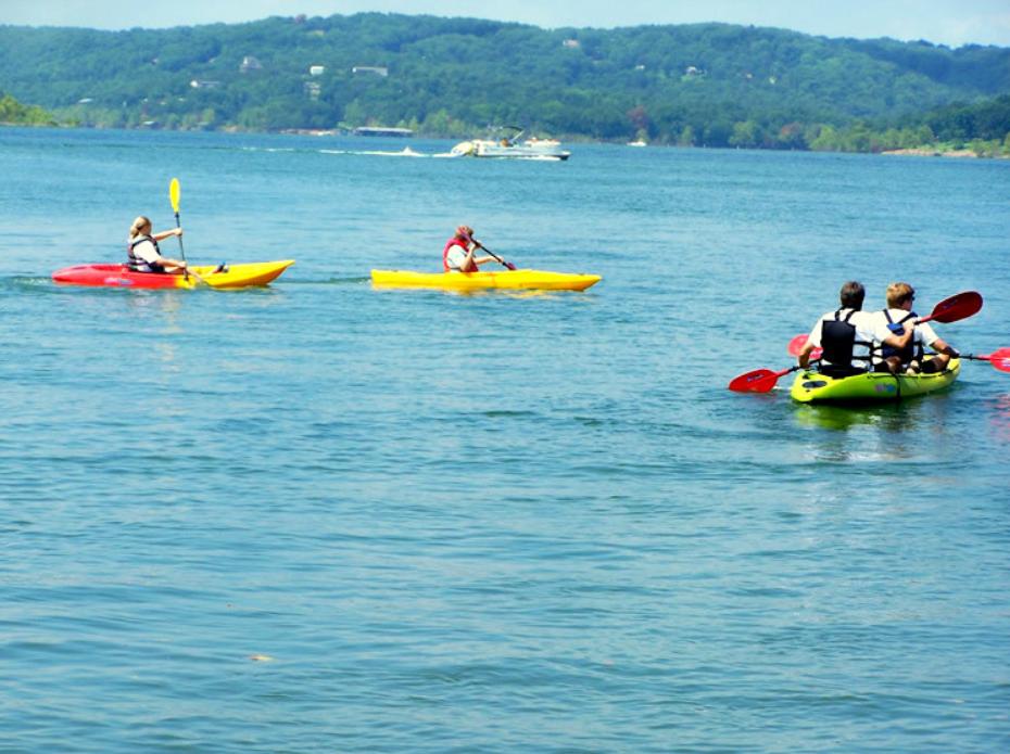 3 Kayaks