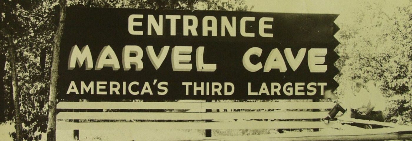 Marvel Cave Sign