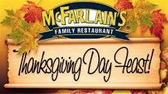 Mc Farlain's Thanksgiving Feast
