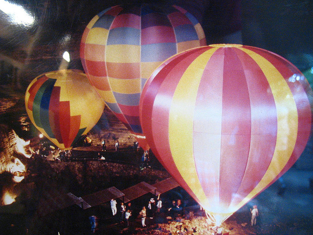 Silver Dollar City Hot Air Balloons