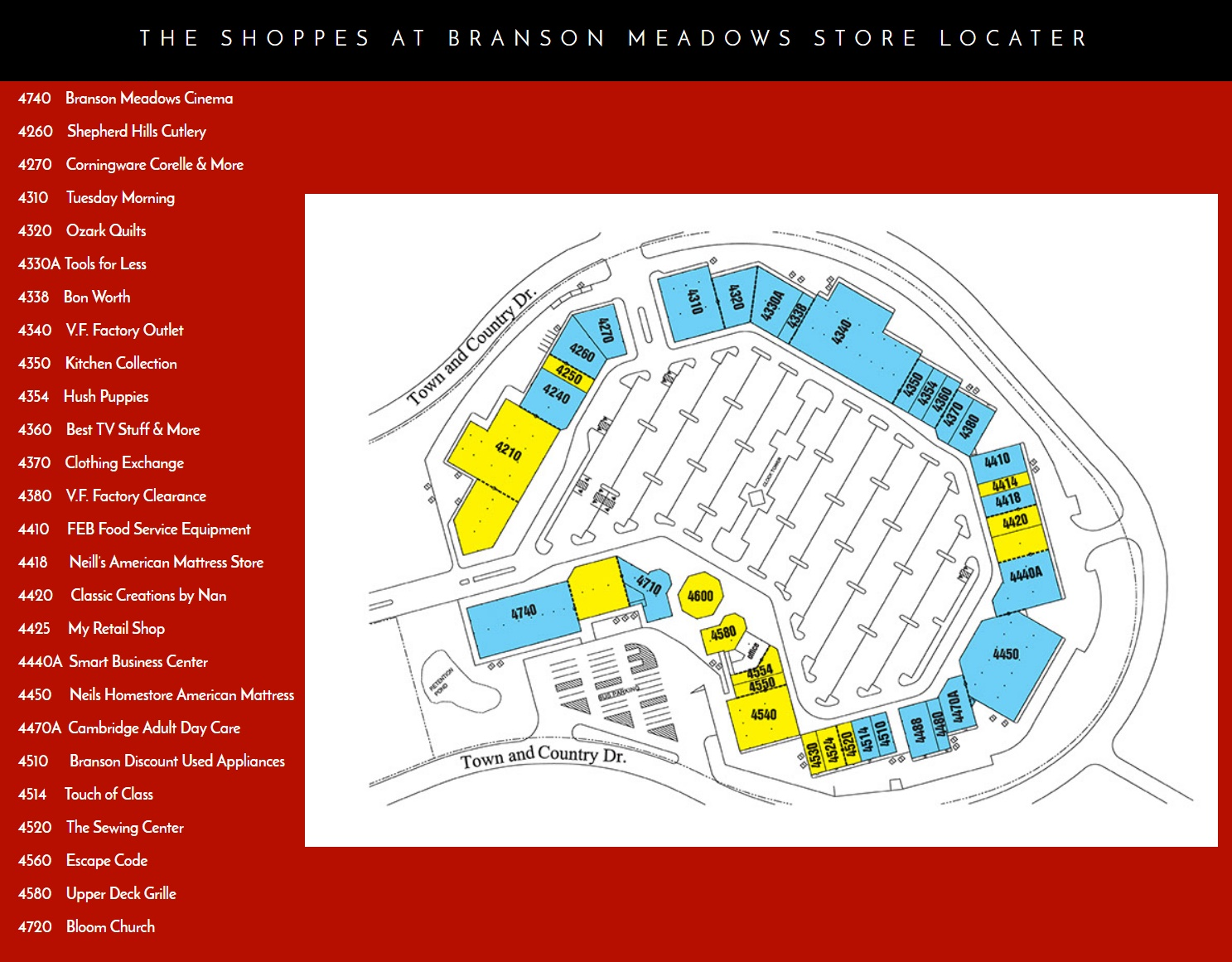 Where Are The Branson Outlets Malls Faq Branson