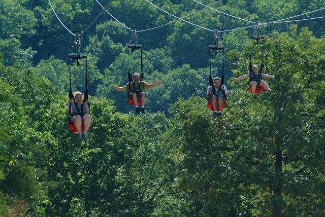 Zip Line Harness >> Branson...It's Just a Quick Zipline Away! - Branson Tourism Center