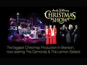 Andy Williams Ozark Mountain Christmas in Branson, MO