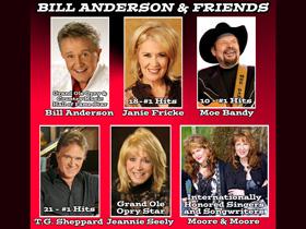 Bill Anderson & Friends in Branson, MO