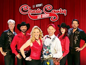 CJ Newsom's Classic Country and Comedy -The VIP Experience in Branson, MO