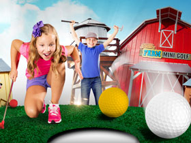 Fun Spot Farm Mini-Golf in Branson, MO
