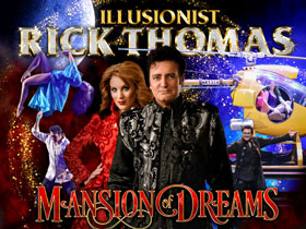 Illusionist Rick Thomas in Branson, MO