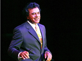 Johnny Mathis with Gary Mule Deer in Branson, MO