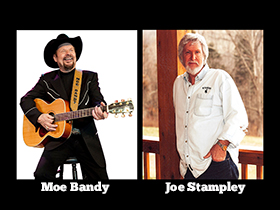 Moe Bandy & Joe Stampley in Branson, MO