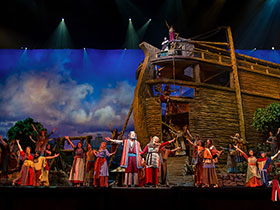 NOAH The Musical Behind The Scenes Tour in Branson, MO