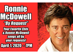 Ronnie McDowell in Branson, MO