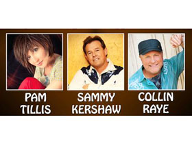 Roots and Boots Tour starring Pam Tillis, Sammy Kershaw and Collin Raye in Branson, MO