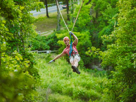 Shepherd of the Hills Great Woodsman Canopy Tours in Branson, MO