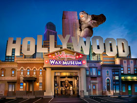 Hollywood Wax Museum Entertainment Center in Branson, MO
