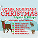 Ozark Mountain Christmas Lights & Village in Branson, MO