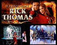 Illusionist Rick Thomas Magical Getaway