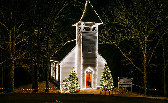 Shepherd Of The Hills Christmas Lights